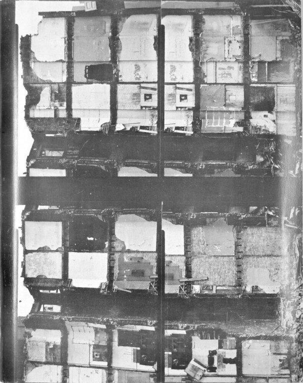 Walls paper / Gordon Matta-Clark
