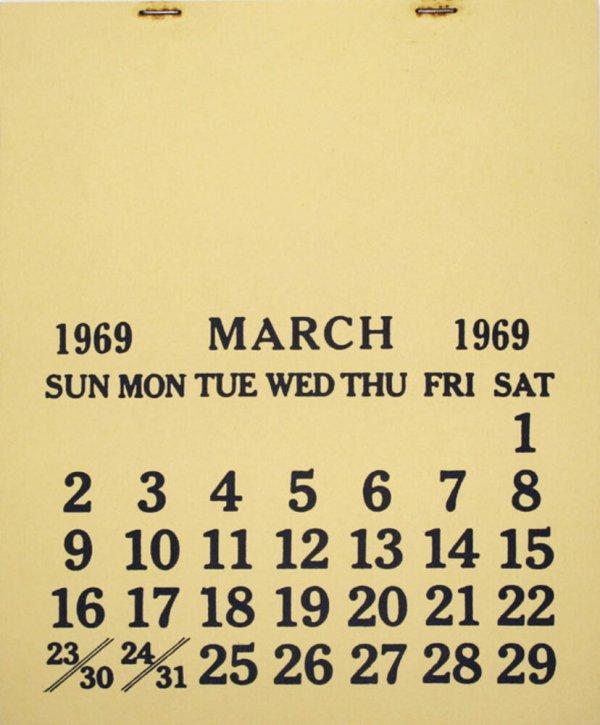 [One month] : March, 1969 / Seth Siegelaub