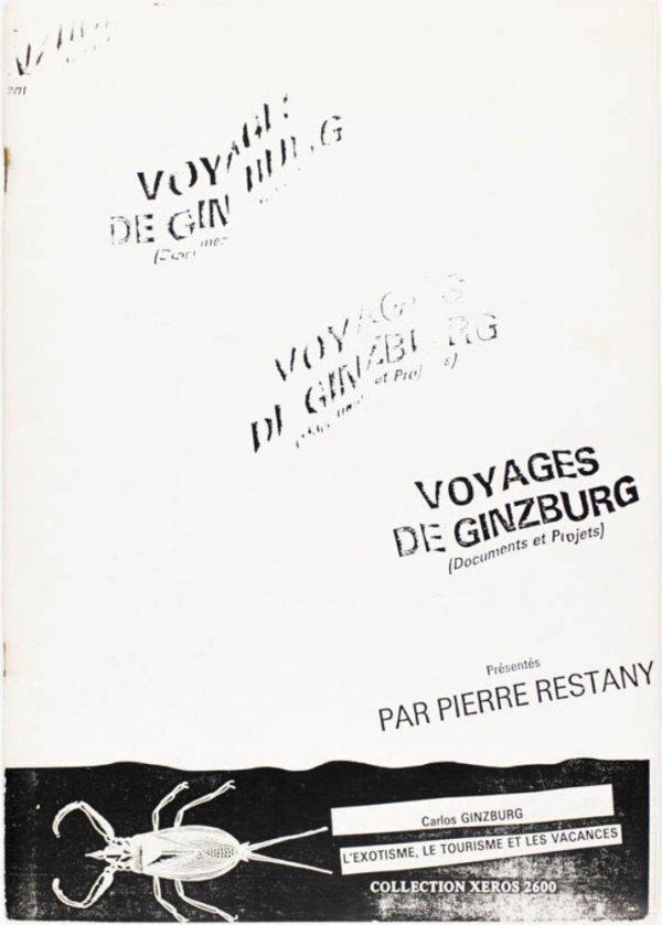 Voyages de Ginzburg : (documents et projets) / présentés par Pierre Restany
