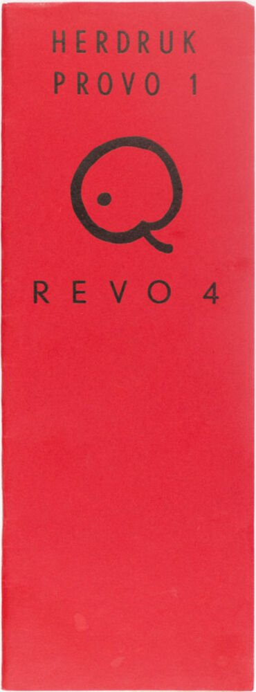 Revo 4 : herdruk Provo [núm. 1]