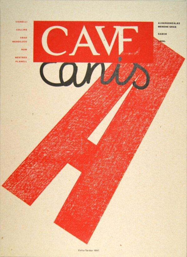Cave canis : butlletí intern de l'A.C.T. Invisible [núm. 6]