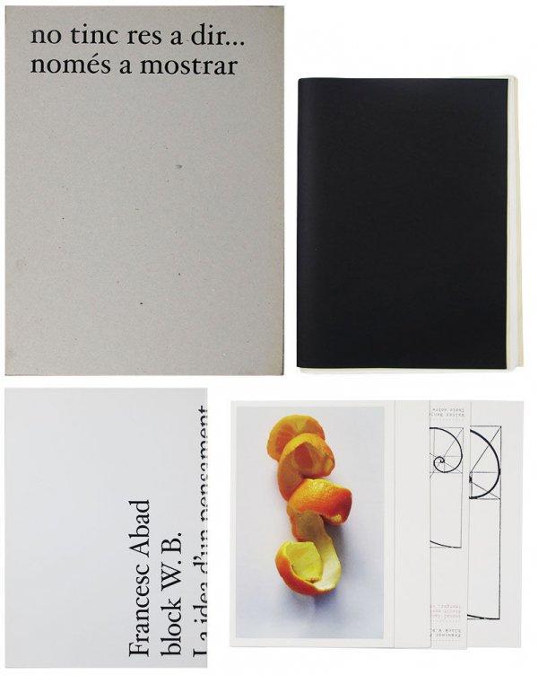 No tinc res a dir... només a mostrar : block W.B. / [producció i realització exposició, catàleg, web: Museu Granollers ; equip de treball: Francesc Abad, Manel Clot (curador), Maria Permanyer]