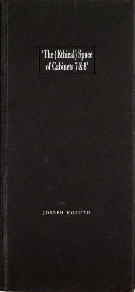 Two Oxford reading rooms / Joseph Kosuth