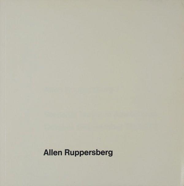 Allen Ruppersberg : Stedelijk Museum Amsterdam, October 5-November 25, 1973