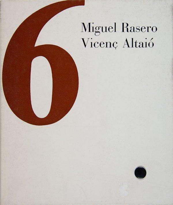 La llengua suspesa / Vicenç Altaio, poemes ; Miguel Rasero, gravats en fusta