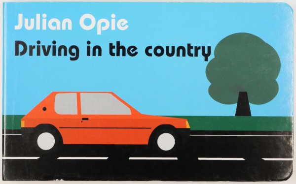 Driving in the country / Julian Opie