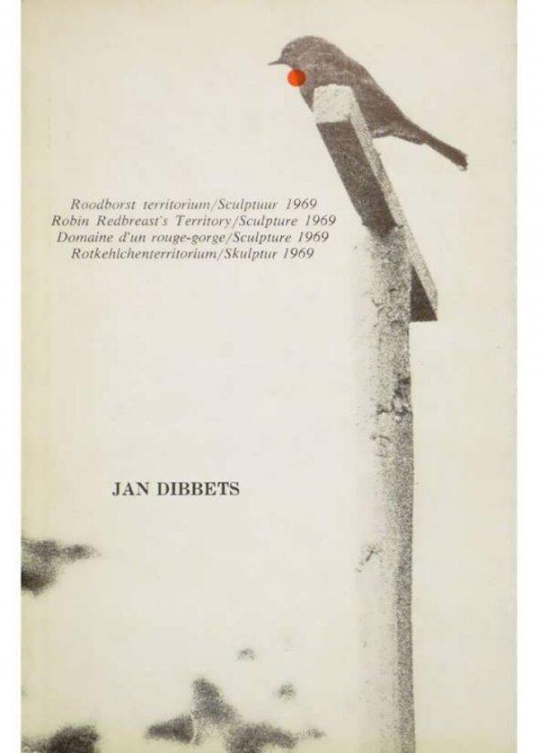 Roodborst territorium : sculptuur 1969, april-juni / Jan Dibbets
