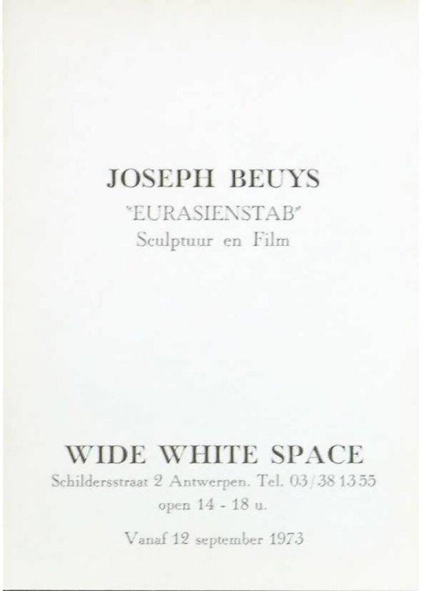 """Joseph Beuys : """"Eurasienstab"""" : sculptuur en film"""