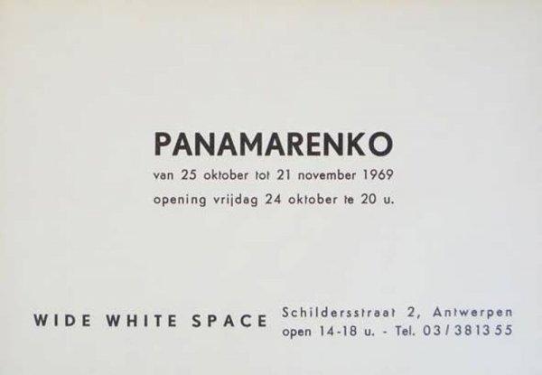 Panamarenko : van 25 oktober tot 21 november 1969