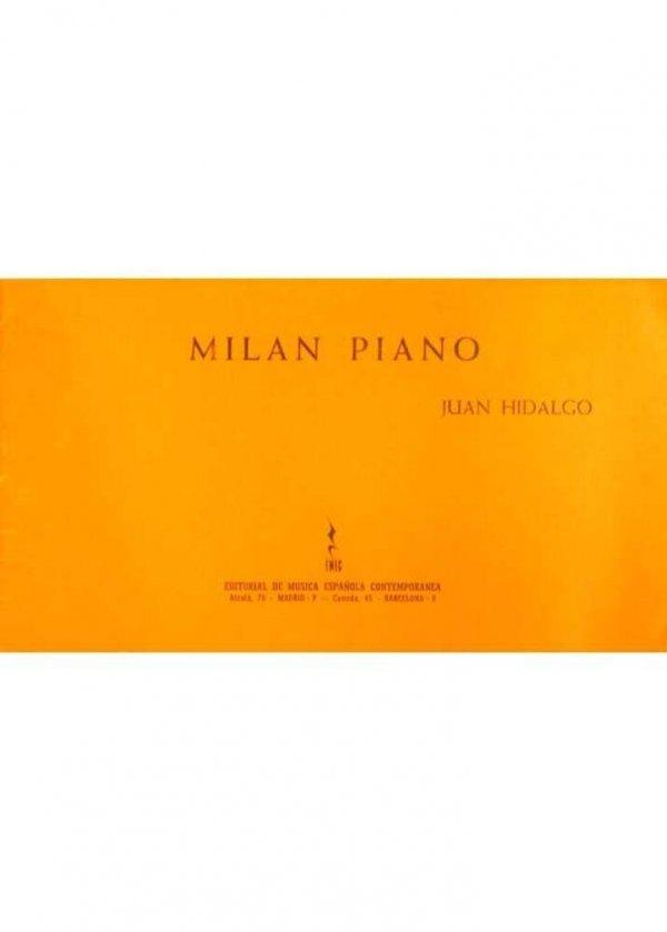 Milan piano : (Milano 1959)