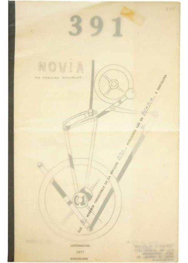 391 : els 4 números inaugurals de la revista 391 publicats par [sic] en Picabia a Barcelona