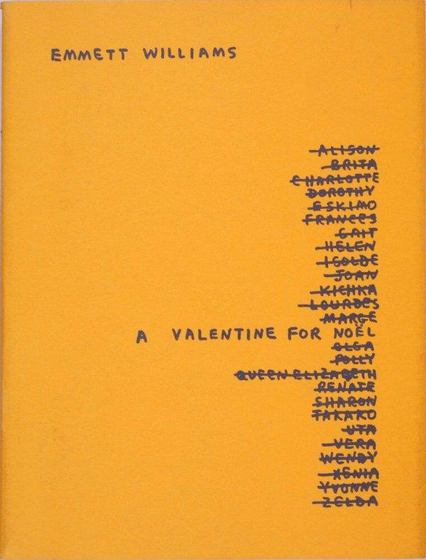 A valentine for Noël : 4 variations on a scheme / Emmett Williams