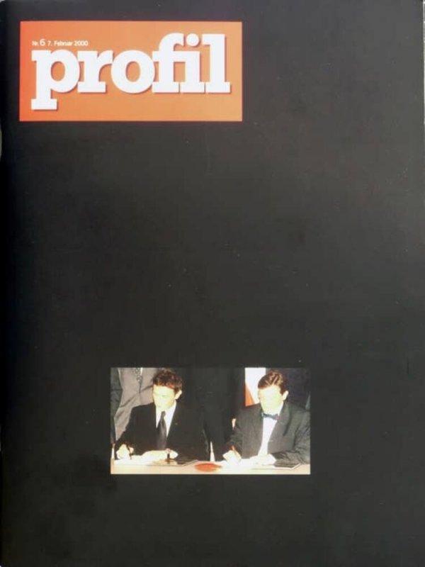 Profil, Nr. 6, 7. Februar 2000 / [nach einem kunstlerischen Konzept von Hans Peter Feldmann]