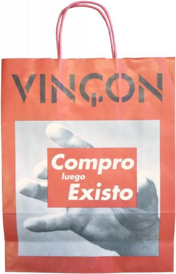 I shop therefore I am = Compro luego existo / [Barbara Kruger]