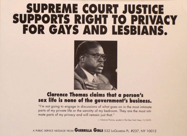 Supreme Court Justice supports right to privacy for gays and lesbians