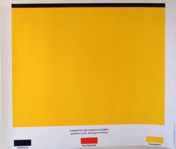 Korrektur der Nationalfarbe