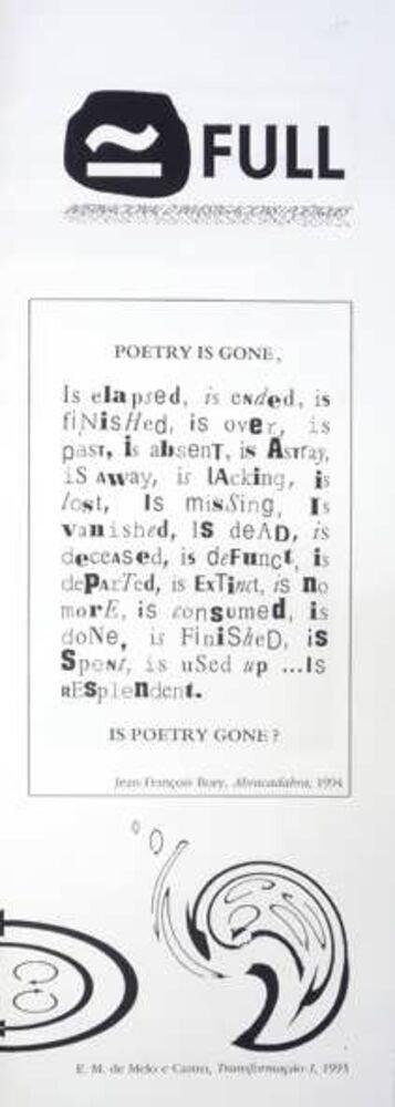 Full : internacional d'investigacions poètiques = international research & poetics [núm. 3]