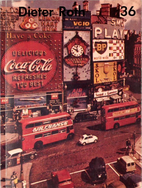 96 Piccadillies : Postkarten von Werken 1968-77 = 96 Piccadillies : postcards of works 1968-77 / Dieter Roth