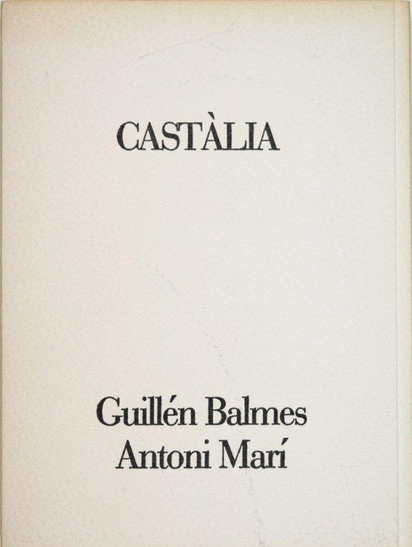 Castàlia / [textos] Antoni Marí ; [gravats] Guillén Balmes