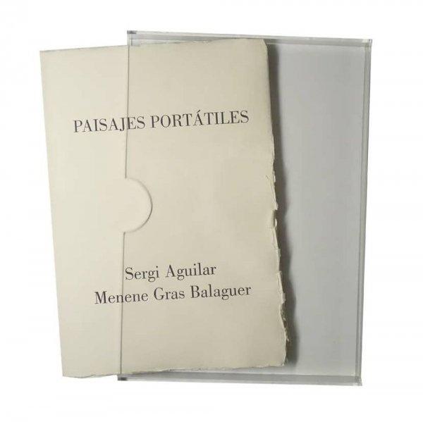 Paisajes portátiles / [grabados] Sergi Aguilar ; [texto] Menene Gras Balaguer