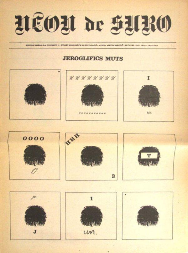 Neon de suro : fullet monogràfic de divulgació [1976, juny]