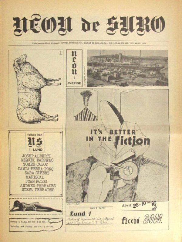 Neon de suro : fullet monogràfic de divulgació [1978, abr.]
