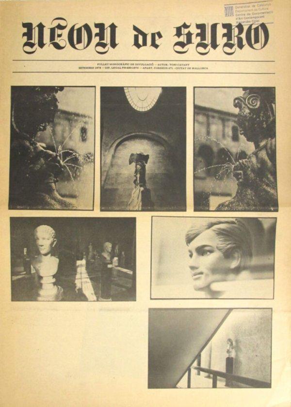 Neon de suro : fullet monogràfic de divulgació [1978, set.]