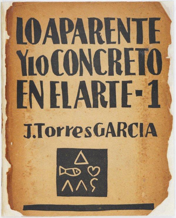 Lo aparente y lo concreto en el arte / J. Torres García