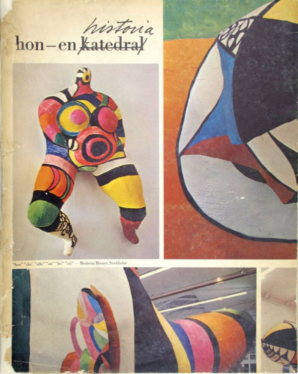 Hon -- en historia / conception, Niki de Saint-Phalle, Jean Tinguely, Per Olof Ultvedt