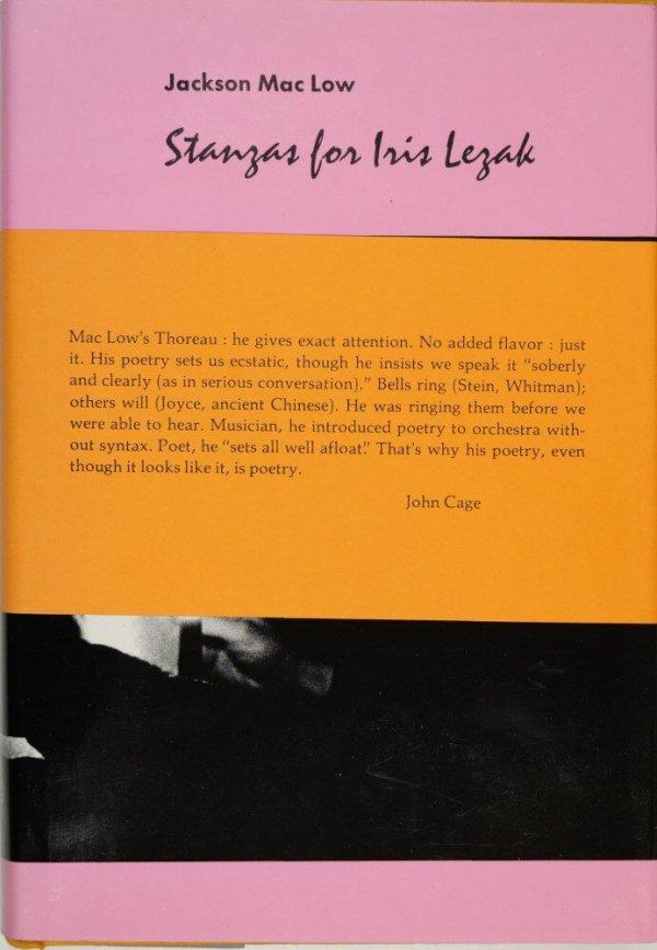 Stanzas for Iris Lezak / by Jackson Mac Low