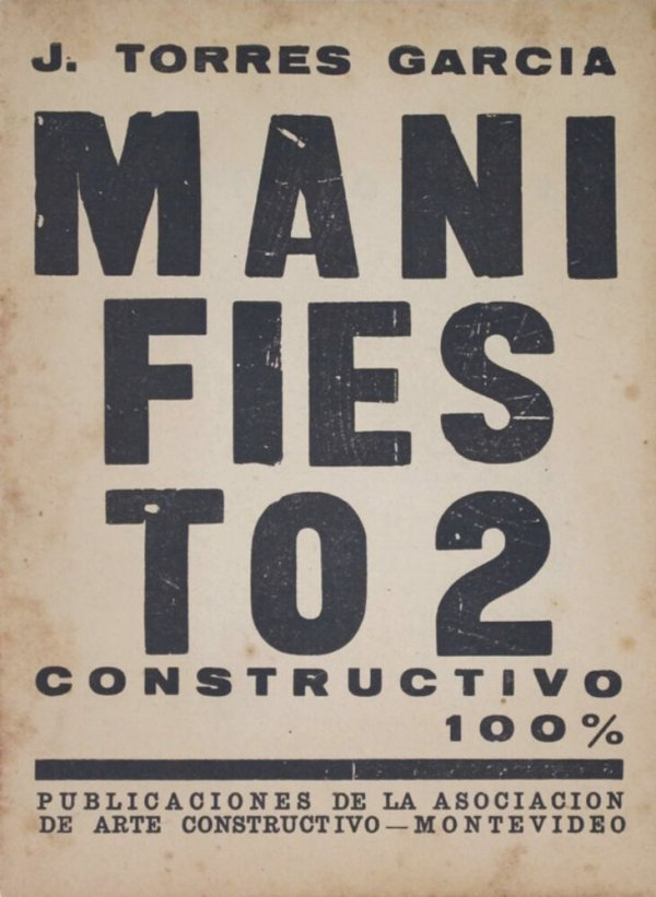 Manifiesto 2 : constructivo 100% / J. Torres-Garcia