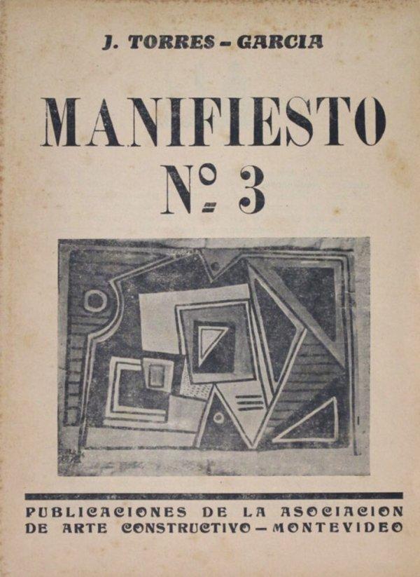 Manifiesto no. 3 / J. Torres-Garcia