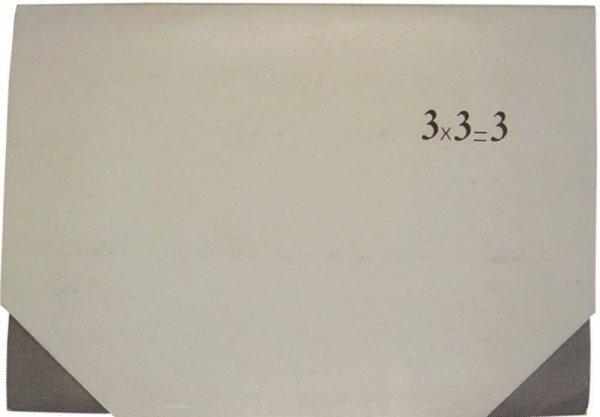 3 x 3 = 3 : poesia experimental / J. M. Calleja, Grupo texto poético, Gustavo Vega