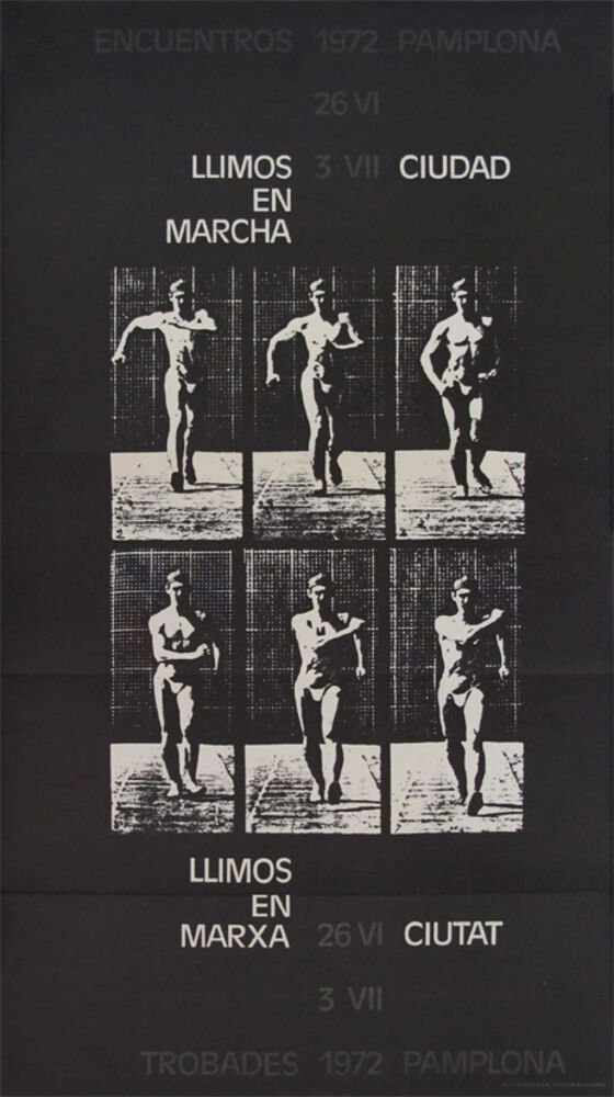 Encuentros, 1972, Pamplona, 26 VI, 3 VII : Llimós, en marcha = LLimós, en marxa