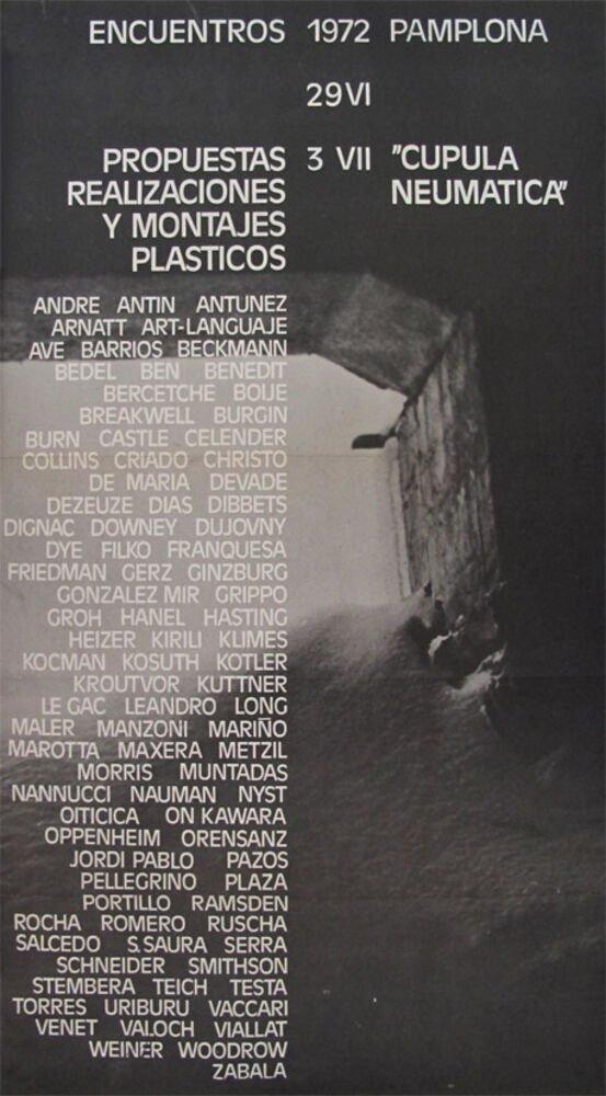 Encuentros, 1972, Pamplona, 29 VI, 3 VII : propuestas, realizaciones y montajes plásticos