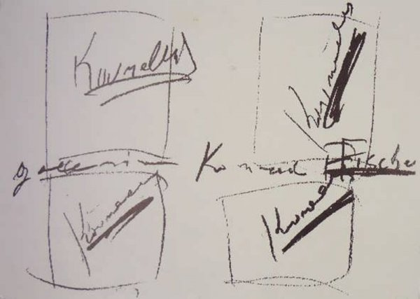 [Jannis Kounellis : bei Konrad Fischer : 17. Dezember 1994 bis 4. Februar 1995]