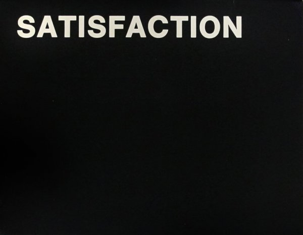 Satisfaction / Allan Kaprow