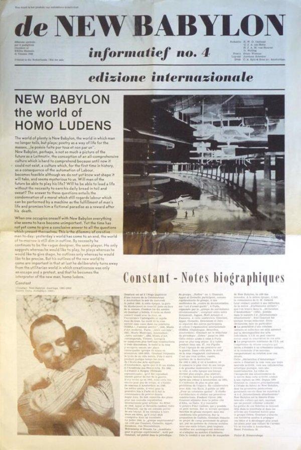 New Babylon Informatief [núm. 4]