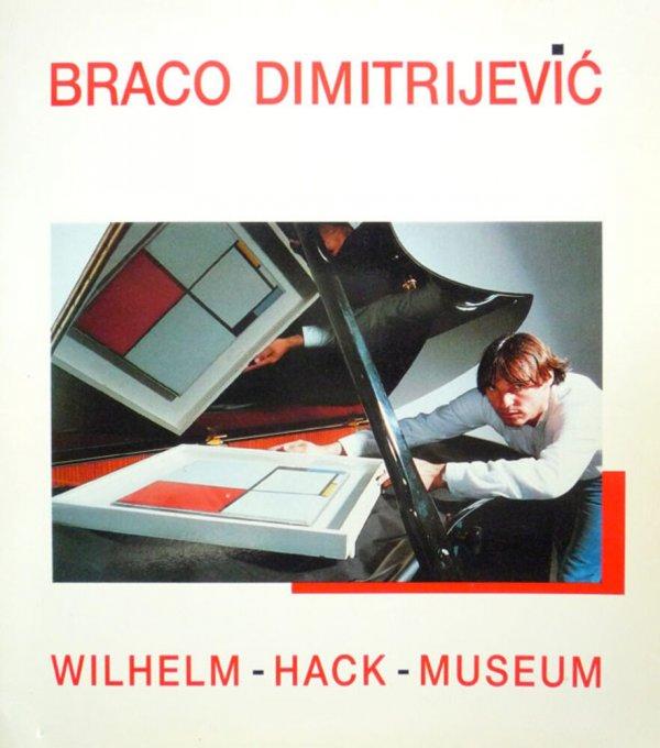 Braco Dimitrijevic : für/for Malewitsch, Mondrian, Einstein : 6. August 1987 - 13. September 1987, Wilhelm-Hack-Museum Ludwigshafen/Rh