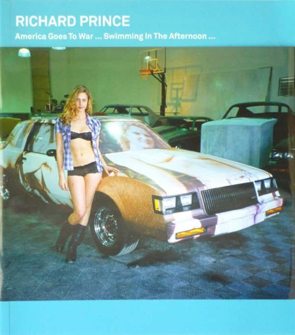 America goes to war... : swimming in the afternoon... / Richard Prince
