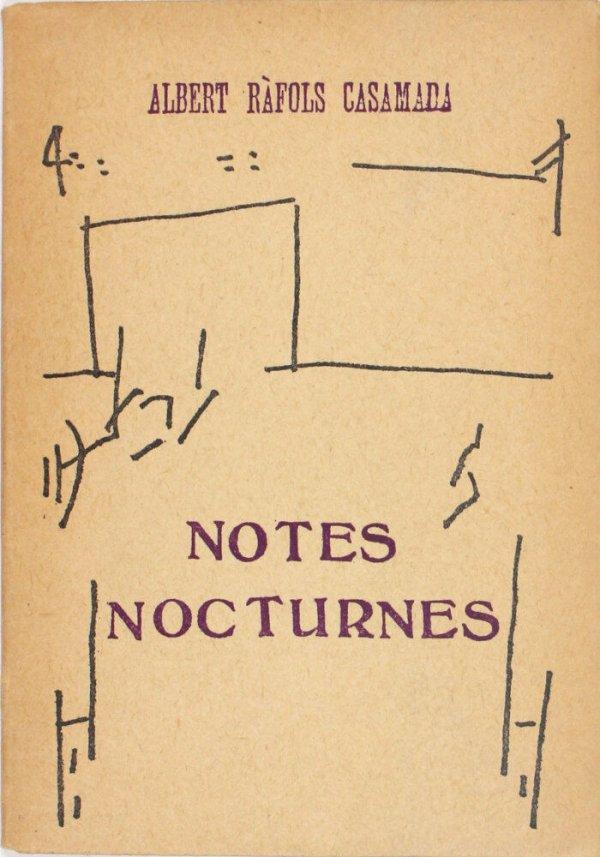 Notes nocturnes / Albert Ràfols Casamada