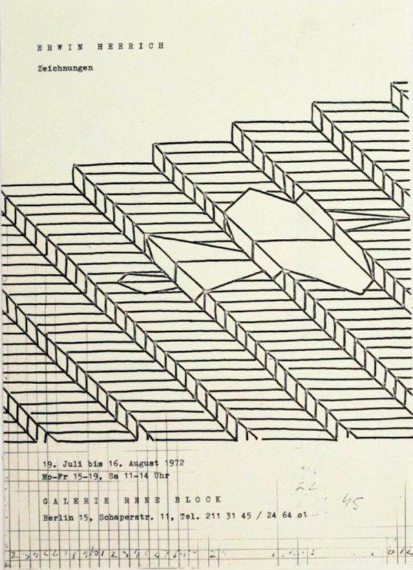 Erwin Heerich : Zeichungen / Galerie René Block