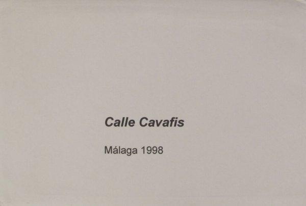 Calle Cavafis : Málaga 1998