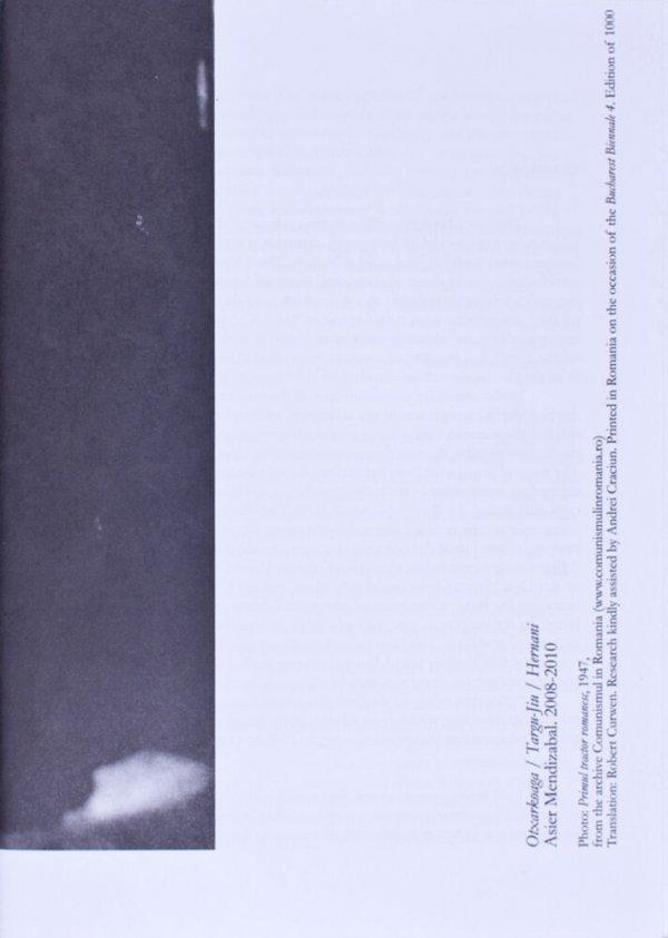 Otxarkoaga/Targu-Jiu/Hernani / Asier Mendizabal