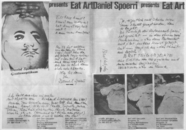 Daniel Spoerri presents eat art : Daniel Spoerri gastronoptikum