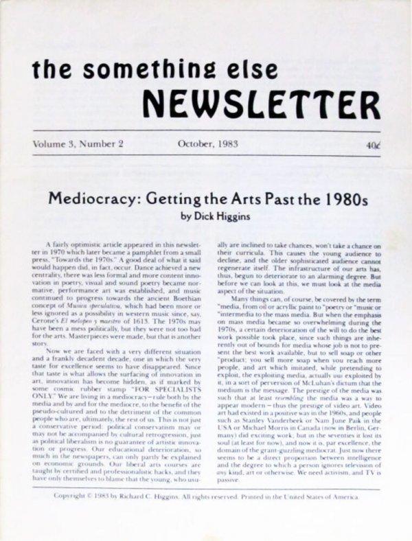 The something else newsletter