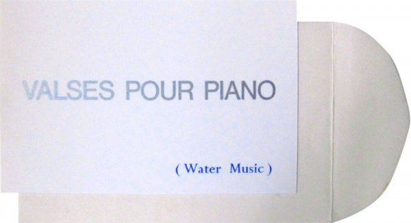 Valses pour piano : (water music)