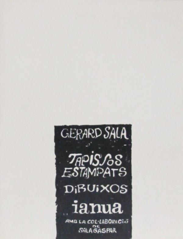 Gerard Sala : tapissos, estampats, dibuixos