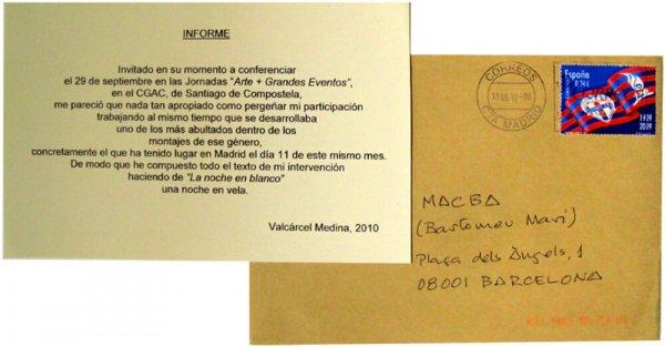 Informe / Valcárcel Medina