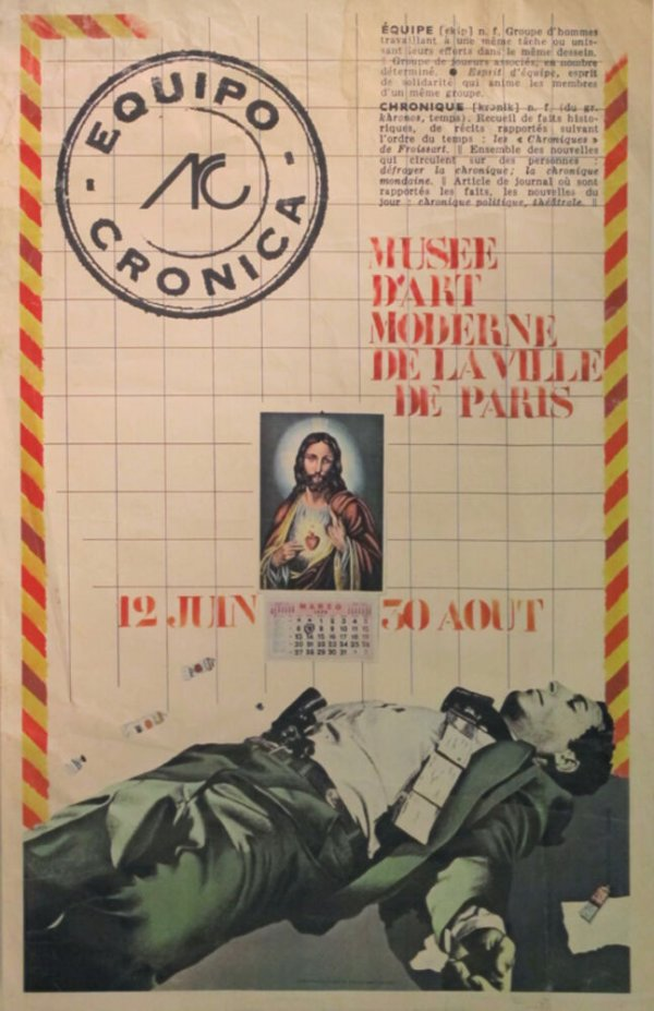 Equipo Crónica : Musée d'Art Moderne de la Ville de Paris